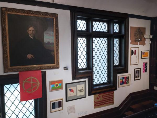 Glen Einbinder art at the Ely Center